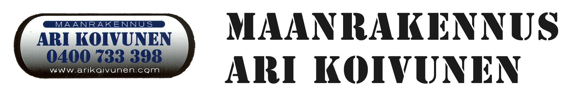 Maanrakennus Ari Koivunen